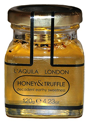 TRUFFLE HONEY - with BLACK SUMMER TRUFFLES 120g from L'Aquila