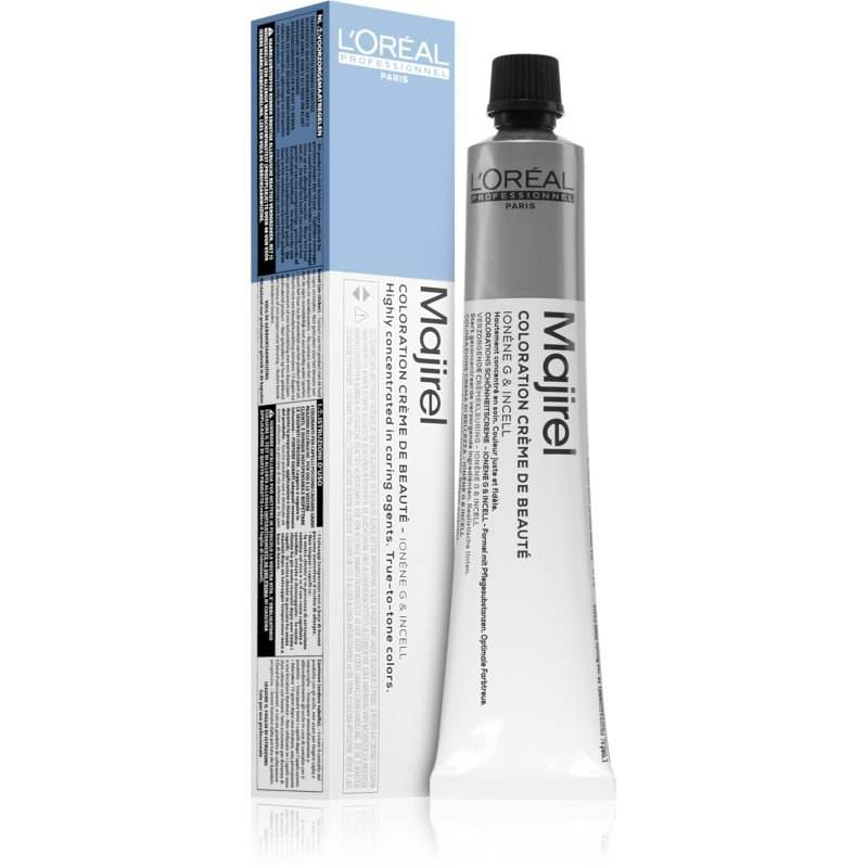 L'Oréal Professionnel Majirel Hair Color Shade 2.10 Intense Ash Darkest Brown 50 ml from L'Oréal Professionnel