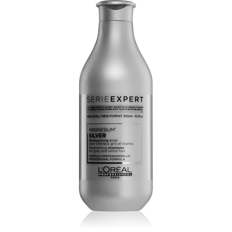 L'Oréal Professionnel Serie Expert Silver Silver Shampoo for Yellow Tones Neutralization 300 ml from L'Oréal Professionnel