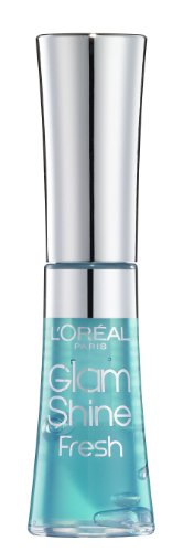 Glam Shine Fresh Lip Gloss by L'Oreal Paris 600 Aqua Curacao 6ml from L'Oreal
