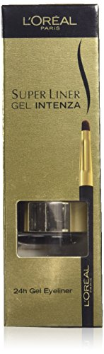 L'Oreal 2.8g Super Liner Gel Intenza Eyeliner, Golden Black Number 02 from L'Oreal