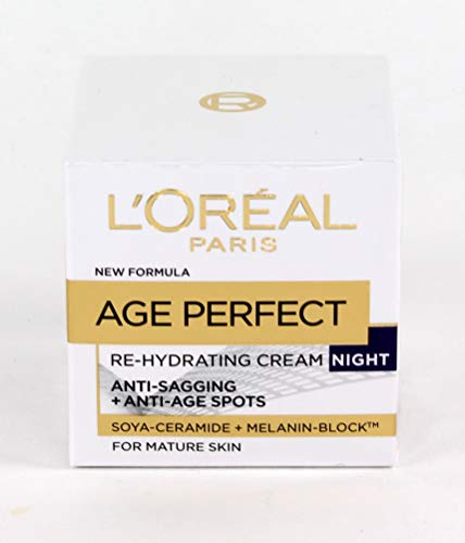 L'Oreal Age Perfect Re-Hydrating Night Cream For Mature Skin 50 ML from L'Oreal