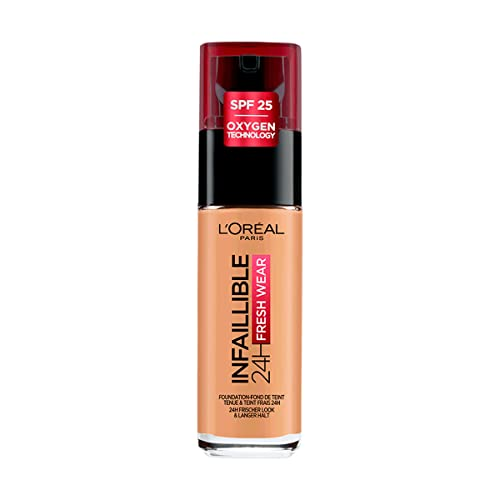 L'Oreal Paris Infallible 24H Foundation, 260 Golden Sun, 30 ml from L'Oreal