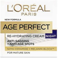 L'Oreal Paris Age Perfect Re-hydrating Cream Night For Mature Skin - 50ml from L'Oreal