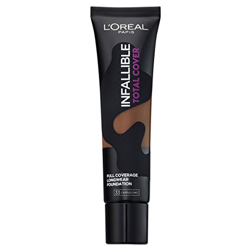 L'Oréal Infallible Total Cover Foundation, 33 Cappuccino, 35 g from L'Oreal