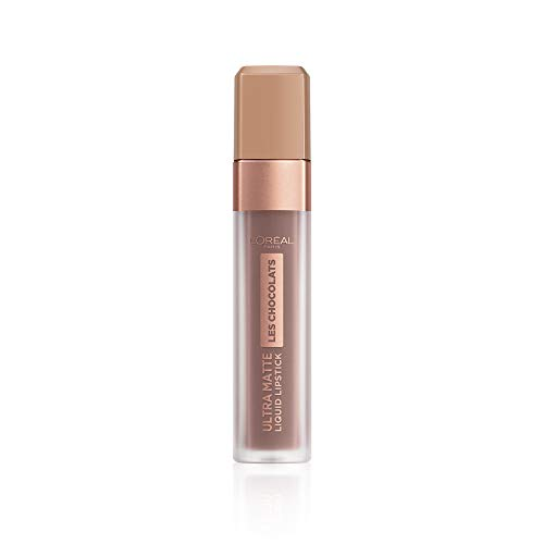 L'Oreal Paris Les Chocolats Ultra Matte Liquid Lipstick 858 Oh my Choc from L'Oreal