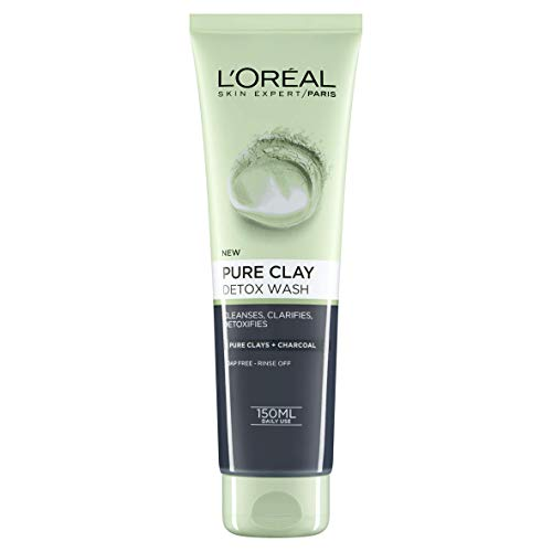 L'Oréal Pure Clay Black Face Wash, 150ml from L'Oréal