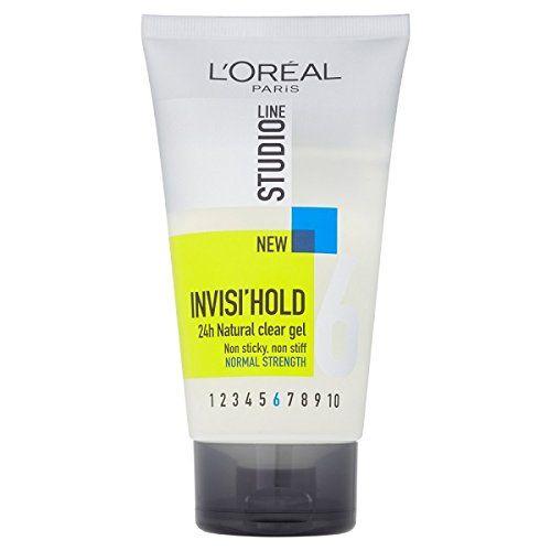 L'Oreal Paris Studio Line Invisi Hold Gel, 150 ml, Pack of 6 from L'Oreal