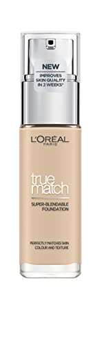 L'Oreal Paris True Match Foundation 1N Ivory with Hyaluronic Acid & SPF from L'Oreal Paris