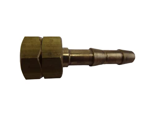 Gas Hose Connector Female to 8mm Tail - L&S Engineers from L&S Engineers