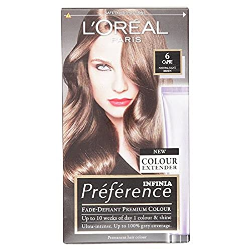 L'Oreal Preference 6 Buenos Aires Dark Blonde Permanent Hair Dye from L'Oreal Paris