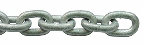 Lalizas Heavy Duty Industrial Hot Dipped Galvanised Security Chain 6mm (4 Meters) from Lalizas