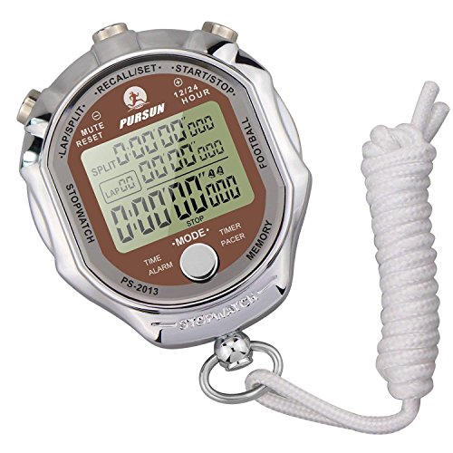 LAOPAO Stopwatch,Digital Display 1/1000 seconds Precision Electronic DigitalTimer waterproof Outdoor Sports from LAOPAO