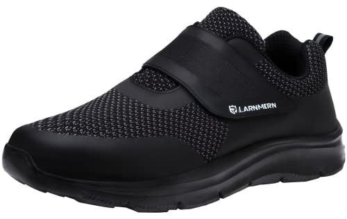 buy online 2cbe8 e0e6f LARNMERN Mens Steel Toe Safety Trainers,LM-121 Flyknit Breathable  Lightweight Reflective Work Shoes. found at Amazon Marketplace