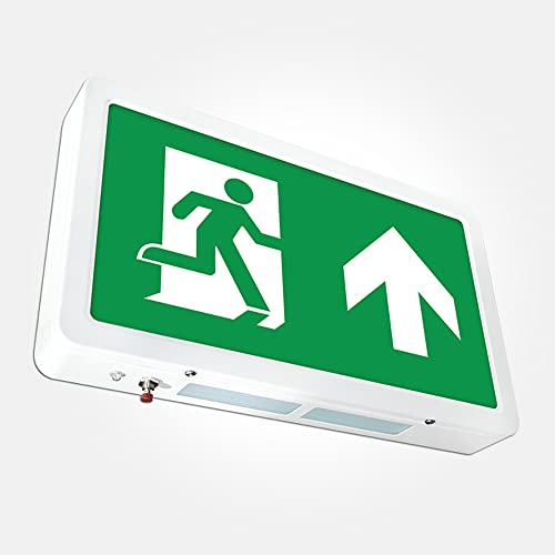 LED EXIT BOX EMERGENCY LIGHTING IP20 MAINTAINED / NON MAINTAINED EXIT SIGN from LEDBRITE