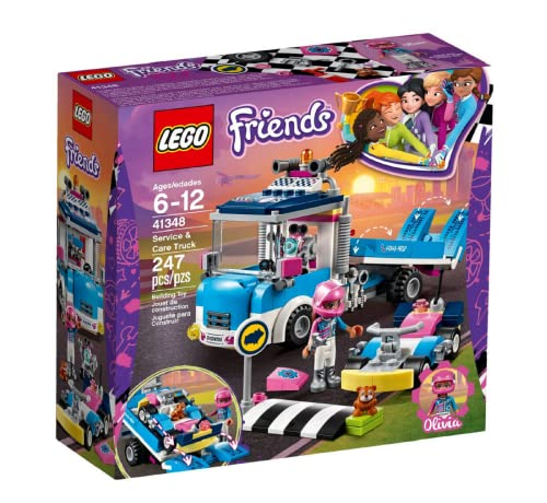 LEGO 41348 Friends Service & Care Truck Building Set from LEGO