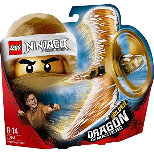 LEGO 70644 Ninjago Golden Dragon Master Flying Toy, Easy to Fly Glider for Kids from LEGO