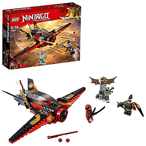 LEGO 70650 NINJAGO Destiny's Wing Toy Jet Plane, Kai and Jet Jack Mini Figures, Airplane Building Sets for Kids from LEGO