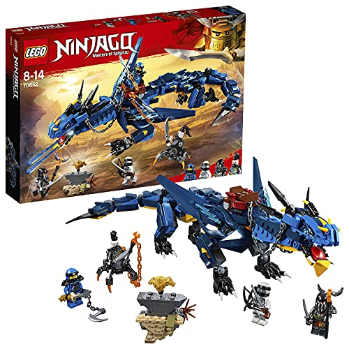 LEGO 70652 NINJAGO Stormbringer Dragon Toy, Masters of Spinjitzu Action Figure, Build and Play Sets for Kids from LEGO