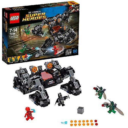 LEGO DC Comics Super Heroes 76086 Justice League Knightcrawler Tunnel Attack Toy from LEGO