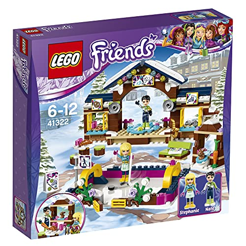 LEGO UK 41322 Snow Resort Ice Rink Construction Toy from LEGO