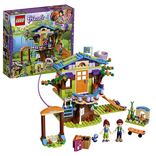 LEGO 41335 Friends Heartlake Mia's Tree House Playset, Mia and Daniel Mini Dolls, Build and Play Fun Toys for Kids from LEGO