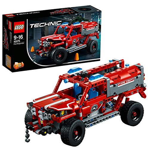 LEGO 42075 Technic First Responder Fire Engine-Fire Truck Construction Set from LEGO