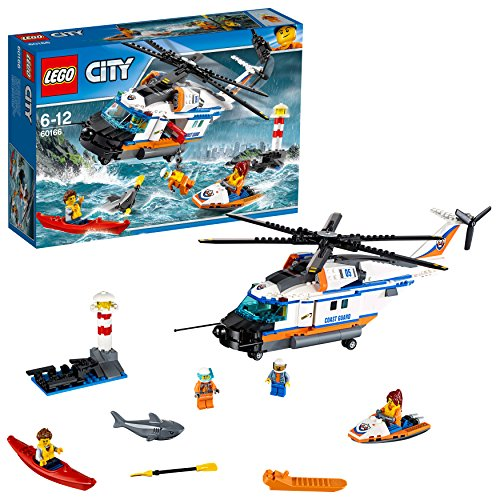"LEGO UK 60166 ""Heavy Duty Rescue Helicopter Construction Toy from LEGO"