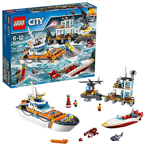 LEGO 60167 Coast Guard Head Quarters Construction Toy from LEGO