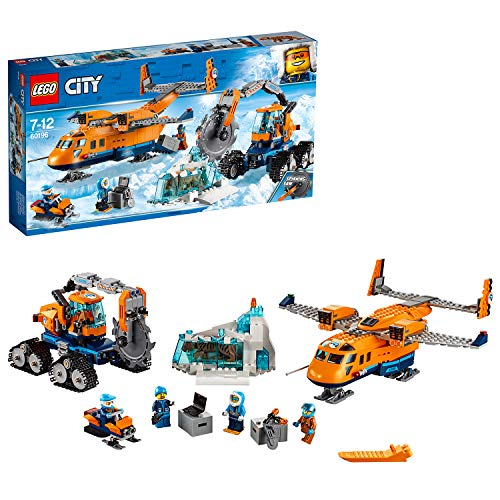 LEGO 60196 City Artic Expedition Toy Airplane, Air Transport Explorer Vehicles, Construction Building Toys for Kids from LEGO