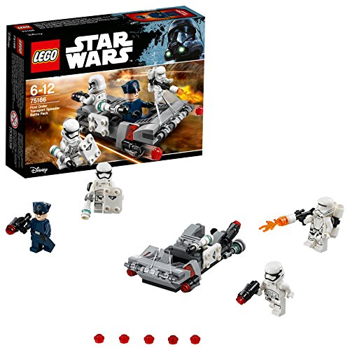 "LEGO UK 75166 ""First Order Transport Speeder Battle Pac Construction Toy from LEGO"