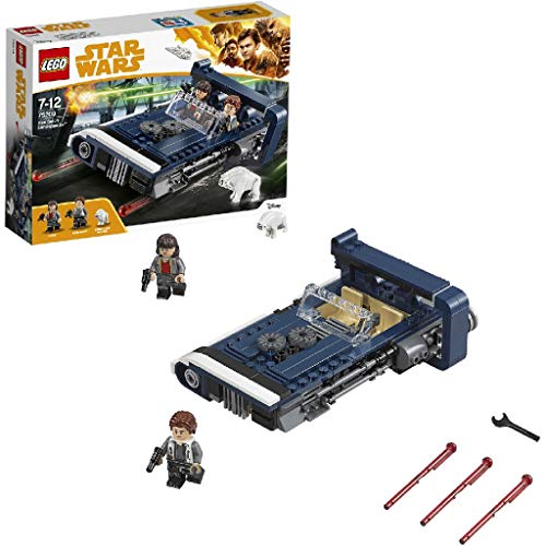 LEGO 75209 Star Wars Han Solo's Landspeeder Toy inc.l. inc.ludes Han Solo and Qi'ra Minifigures, Fun Playset for Kids from LEGO