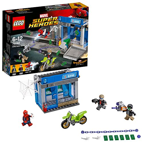 LEGO Super Heroes 76082 Spider-Man ATM Heist Battle Toy from LEGO