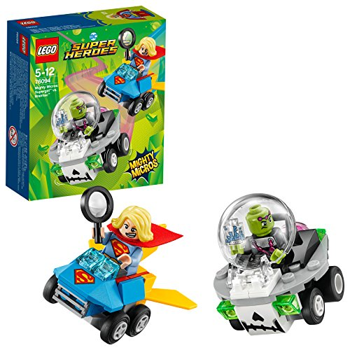 LEGO UK - 76094 DC Super Heroes Mighty Micros: Supergirl versus Brainiac Superhero Toy for Girls and Boys from LEGO