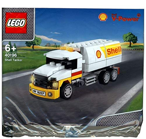 LEGO 2014 The New Shell V-power Collection Shell Tanker Polybag 40196 Limited Edition Sealed from LEGO
