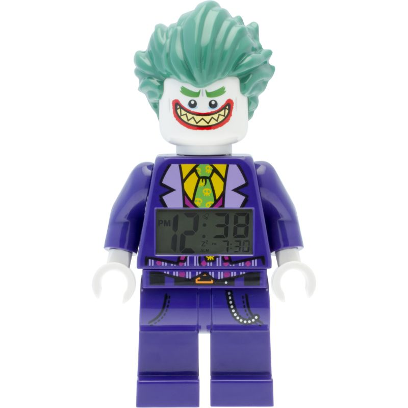 THE LEGO® BATMAN MOVIE The Joker™ Minifigure Alarm Clock from LEGO