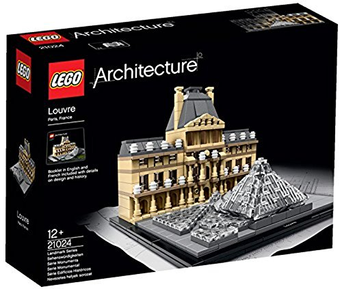 LEGO 21024 Architecture Louvre Landmark Series from LEGO