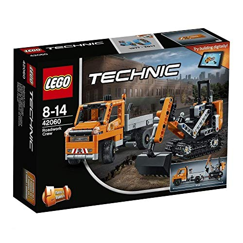 LEGO 42060 Technic Roadwork Crew Construction Toy from LEGO