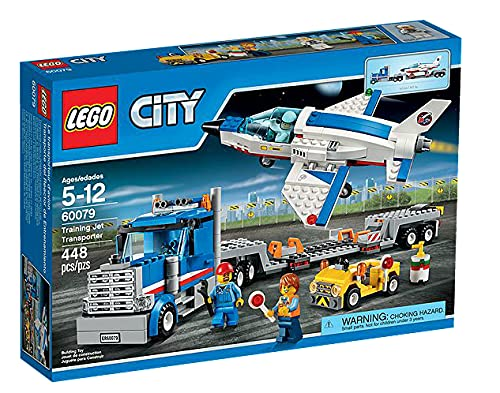 LEGO 60079 City Space Port Training Jet Transporter from LEGO