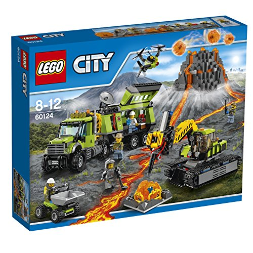 LEGO 60124 City Volcano Exploration Base Building Toy from LEGO
