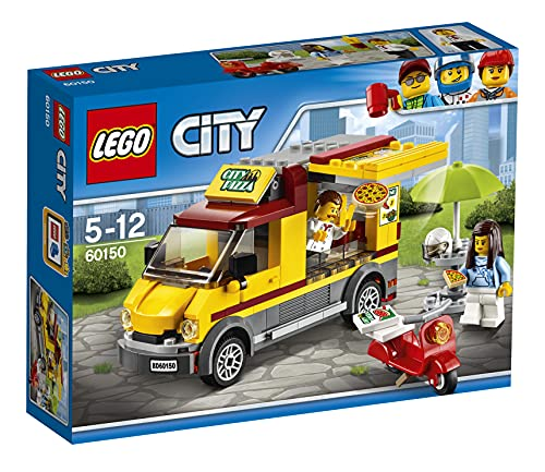 LEGO 60150 City Great Vehicles Pizza Van and Scooter Building Set, Fun Build and Play Toys for Kids from LEGO