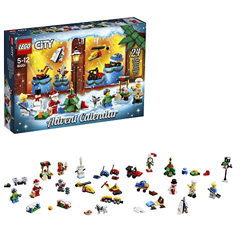 LEGO 60201 City Advent Calendar 2018 Christmas Countdown Building Toy for Kids from LEGO