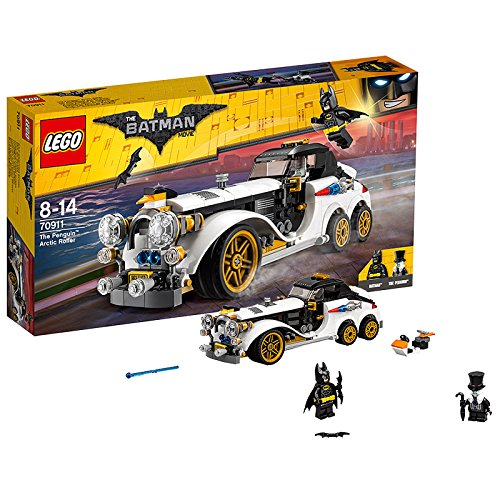 LEGO DC Comics Batman The Penguin Arctic Roller Building Toy from LEGO