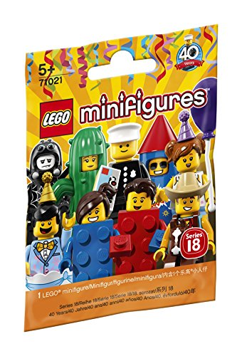 LEGO 71021 Minifigures Series 18 Party Variety of Styles (Style Picked at Random) from LEGO