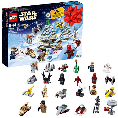 LEGO 75213 Star Wars Advent Calendar 2018 Christmas Countdown Building Toy for Kids from LEGO