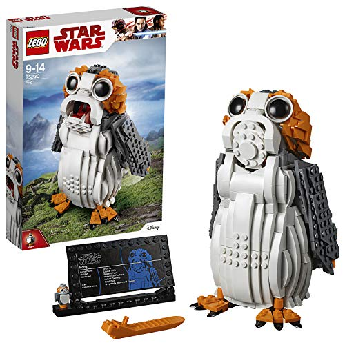 LEGO 75230 Star Wars Ahch-to Sea-Dwelling Bird Figure, PORG Building Set, Collectible Model from LEGO