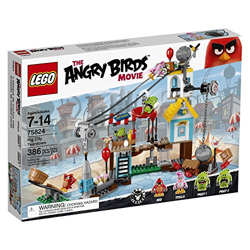 LEGO 75824 Angry Birds Pig City Teardown Building Set from LEGO