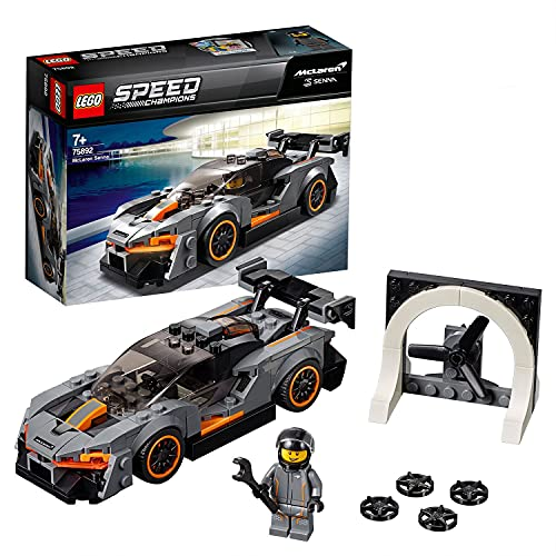 LEGO 75892 Speed Champions McLaren Senna Building Kit, Colourful from LEGO