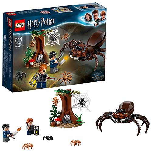 LEGO 75950 Harry Potter Aragog's Lair Building Set, Spider Toy, Wizarding World Gifts from LEGO