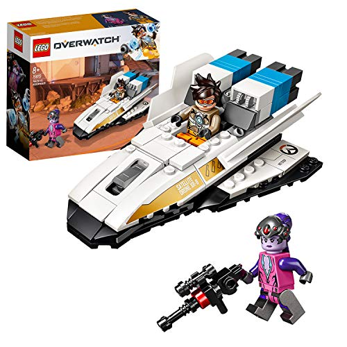 LEGO 75970 Overwatch Tracer vs. Widowmaker Toy with Minifigures from LEGO